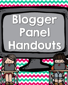 TpT Conference 2014 Session Handout: Blogger Panel!