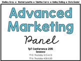 TpT Conference 2015: Advanced Marketing Panel Handouts (Fo