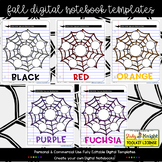 FALL DIGITAL NOTEBOOK TEMPLATES GROUP APPRECIATION GIFT
