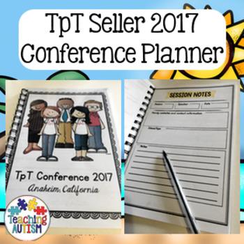 TpT Conference 2017 Planner - Anaheim