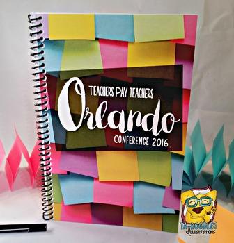 Orlando Conference Planner & Journal 2016 *HARD GOOD*