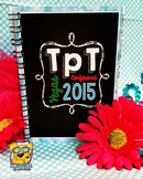 TpT Conference Vegas Planner and Journal 2015 *HARD GOOD*