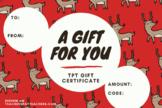 TpT Gift Certificate