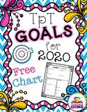 TpT 2019 Goal Setting Chart