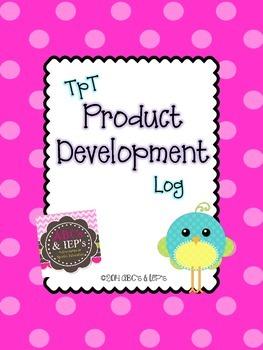 TpT Product Development Log