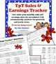 TpT Sales and Earnings Tracker for Any Year (Yearly, Quarterly, Monthly)