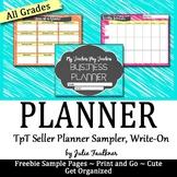 TpT Seller Planner, 2017 TpT Conference Handout Freebie
