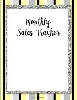 Planner for Teachers pay Teachers Sellers! (Yellow, Black & Gray Glitter)