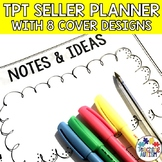 TpT Seller Data Tracker, Planner and Tips