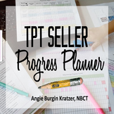 TpT Seller Progress Planner {Fully EDITABLE}