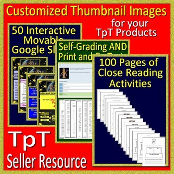 TpT Seller Resource:  Customized Thumbnail Service For Your TpT Products