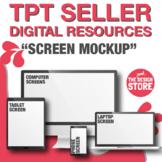 TpT Seller Resources   Screens Mockups   Thumbnails / Clipart