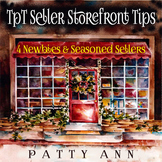 TpT Seller Storefront Tips ~  4 Newbies & Seasoned Sellers >  POPULAR!