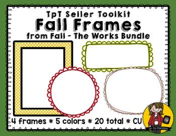 TpT Seller Toolkit {Fall Frames}