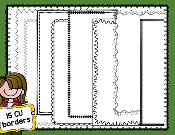 TpT Seller Toolkit {Fall Page Borders}