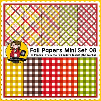 TpT Seller Toolkit {Fall Paper Mini Set 08}