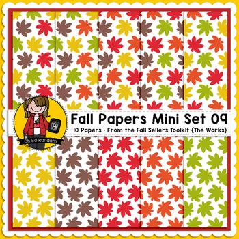 TpT Seller Toolkit {Fall Paper Mini Set 09}