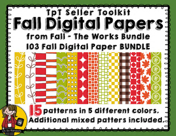 TpT Seller Toolkit {Fall Paper BUNDLE}