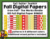 TpT Seller Toolkit {Fall Paper BUNDLE}