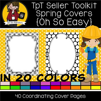 TpT Seller Toolkit {Spring Product Covers}