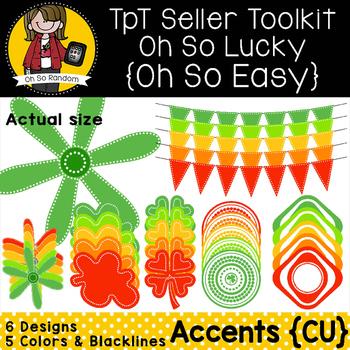 TpT Seller Toolkit {Saint Patrick's Accents}