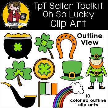 TpT Seller Toolkit {Saint Patrick's Clip Art}