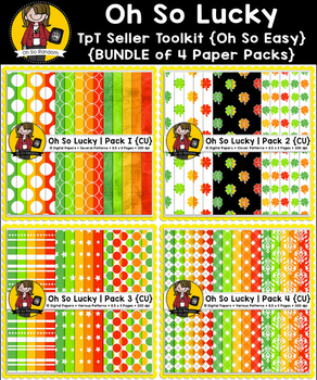 TpT Seller Toolkit {Saint Patrick's Paper BUNDLE}