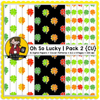 TpT Seller Toolkit {Saint Patrick's Paper Pack 2}