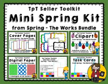 TpT Seller Toolkit {Spring - The Works Mini}