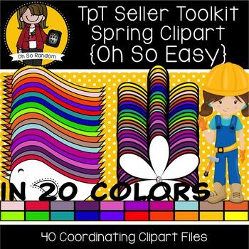 TpT Seller Toolkit {Spring Clipart}