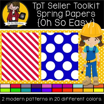 TpT Seller Toolkit {Spring Papers}