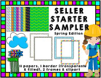 TpT Seller Toolkit {Spring Sampler}