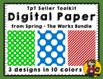 TpT Seller Toolkit {Spring - The Works Papers}