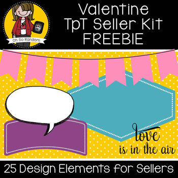 TpT Seller Toolkit {Valentine FREEBIE}