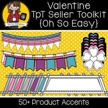 TpT Seller Toolkit {Valentine Accents}
