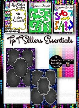 TpT Seller's Essential Clip Art Mega Bundle