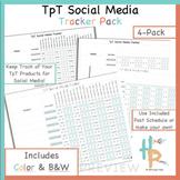 TpT Social Media Tracker Pack