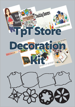 TpT Store Decoration Kit