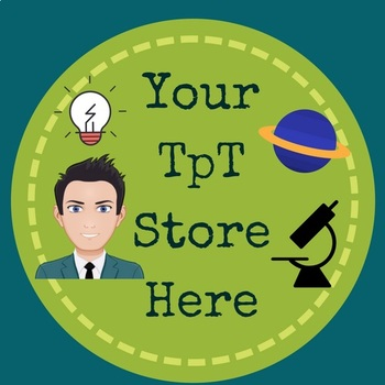 TpT Store Logo, Label, Banner - SCIENCE