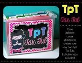 TpT Tax Tub {A Freebie}