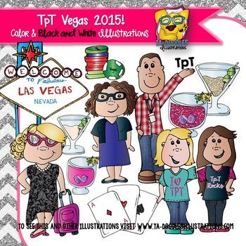 TpT Vegas Clipart