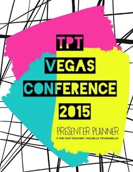 TpT Vegas Conference 2015 Planner