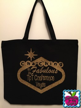 TpT Vegas Conference Bag