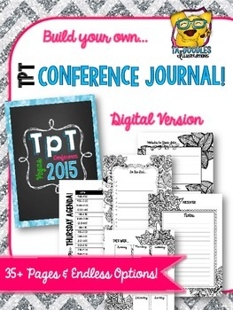 TpT Vegas Conference Planner and Journal *DIGITAL*