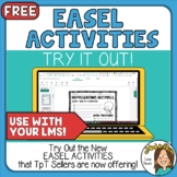 TpT's New Easel Activities Try it out and learn about it!