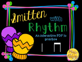 Smitten with Rhythm, PDFs and worksheets for practicing ta ti-ti