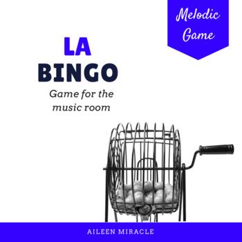 Melodic Bingo for La