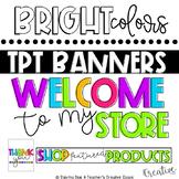 Tpt Store Banner {Bright Theme #10}