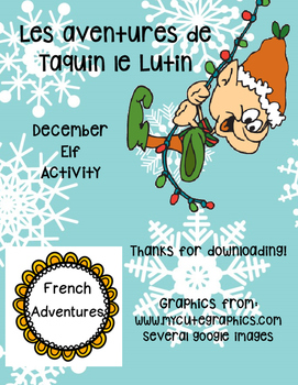 French Elf Classroom Activities