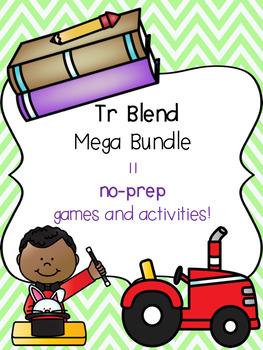 Tr Blend Mega Bundle! [11 no-prep games and activities]